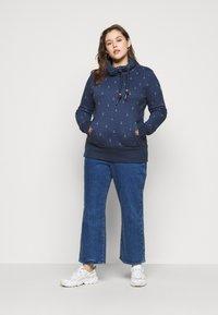Ragwear Plus - RYLIE MARINA - Sweatshirt - navy - 1