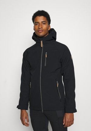 ALLENTON - Soft shell jacket - black
