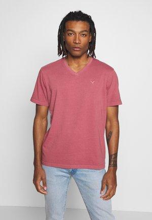 BUTLER - T-shirt basic - mauve