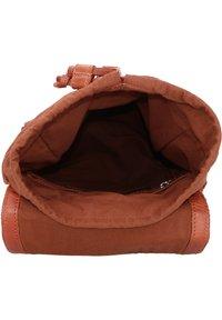 Cowboysbag - BACK TO SCHOOL NOVA RUCKSACK 38 CM LAPTOPFACH - Sac bandoulière - cognac - 4