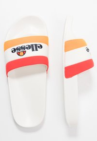Ellesse - BORGARO - Ciabattine - orange/white/red - 1