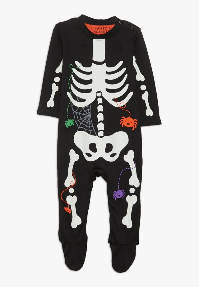 BABY SKELETON  - Nattdrakt - black