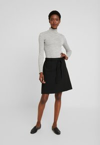 Kaffe - KAJILJA SKIRT - A-line skirt - black deep - 1