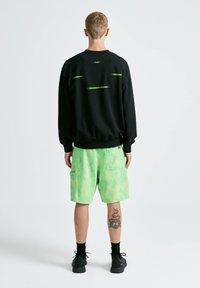 PULL&BEAR - Sweatshirt - mottled black - 2