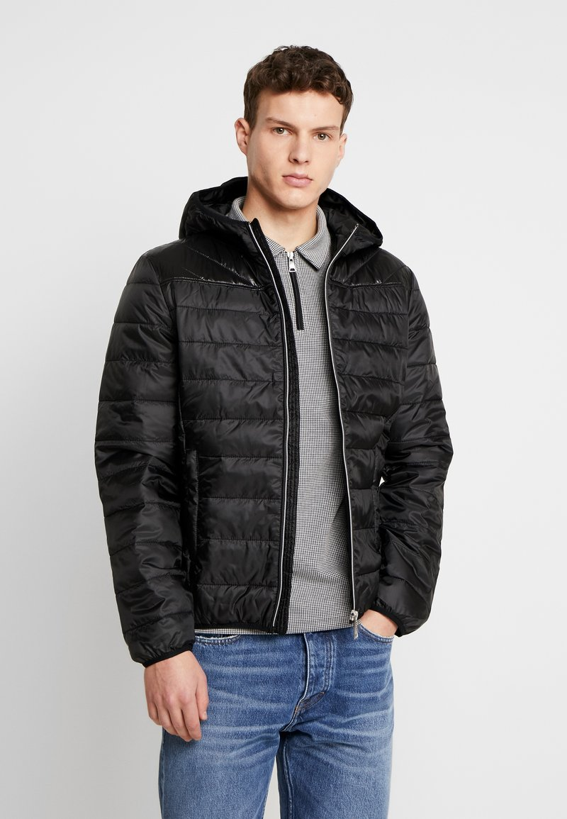 Guess - SUPER LIGHT ECO FRIENDLY - Light jacket - jet black
