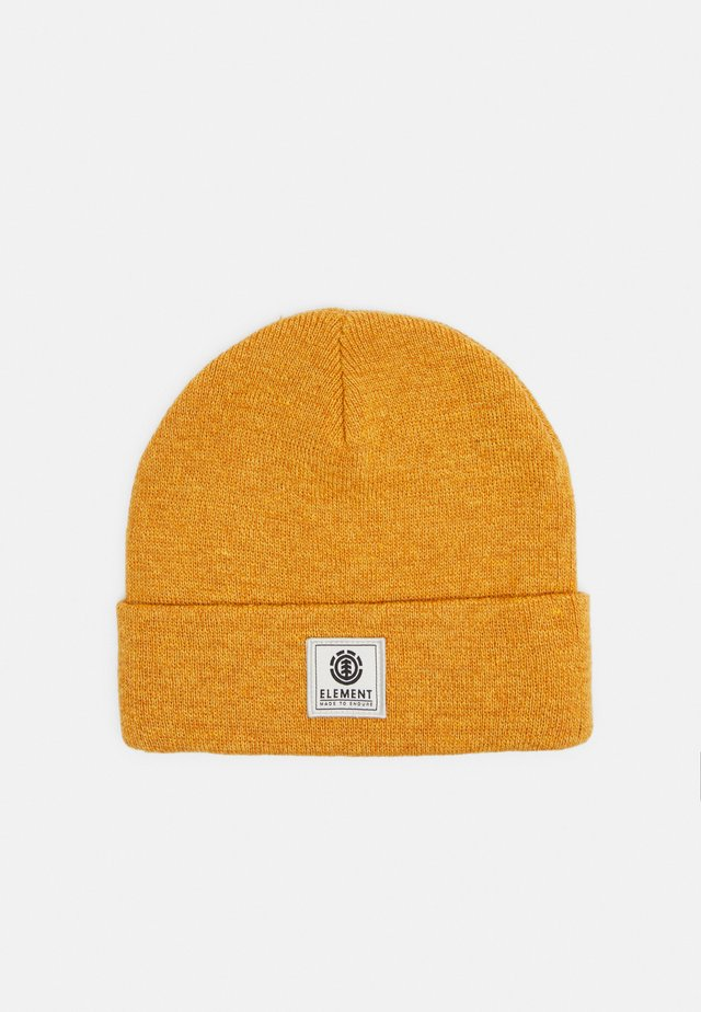 DUSK BEANIE BOY - Beanie - old gold heather