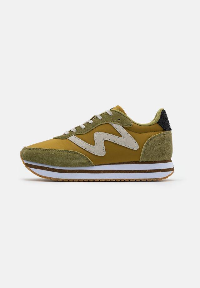 OLIVIA PLATEAU II - Sneakers basse - ecru/olive