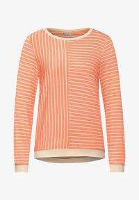 Street One - Long sleeved top - orange - 3