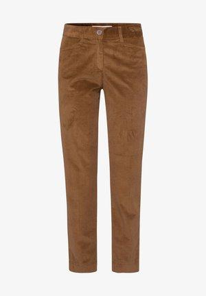 STYLE MARA S - Pantalon classique - walnut