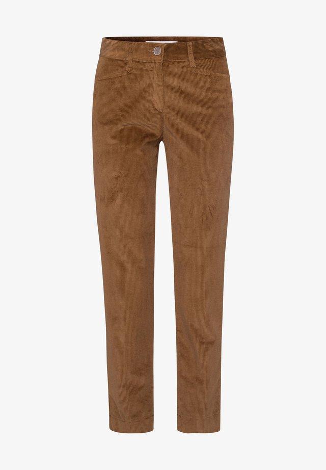 STYLE MARA S - Pantaloni - walnut