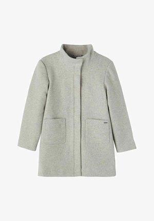 Klassischer Mantel - Grey Melange