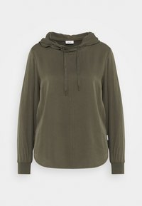 Marc O'Polo DENIM - BLOUSE HOODED - Hoodie - utility olive - 0