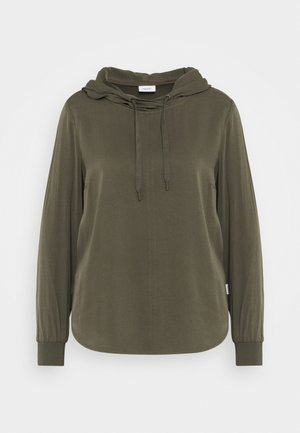 BLOUSE HOODED - Hoodie - utility olive