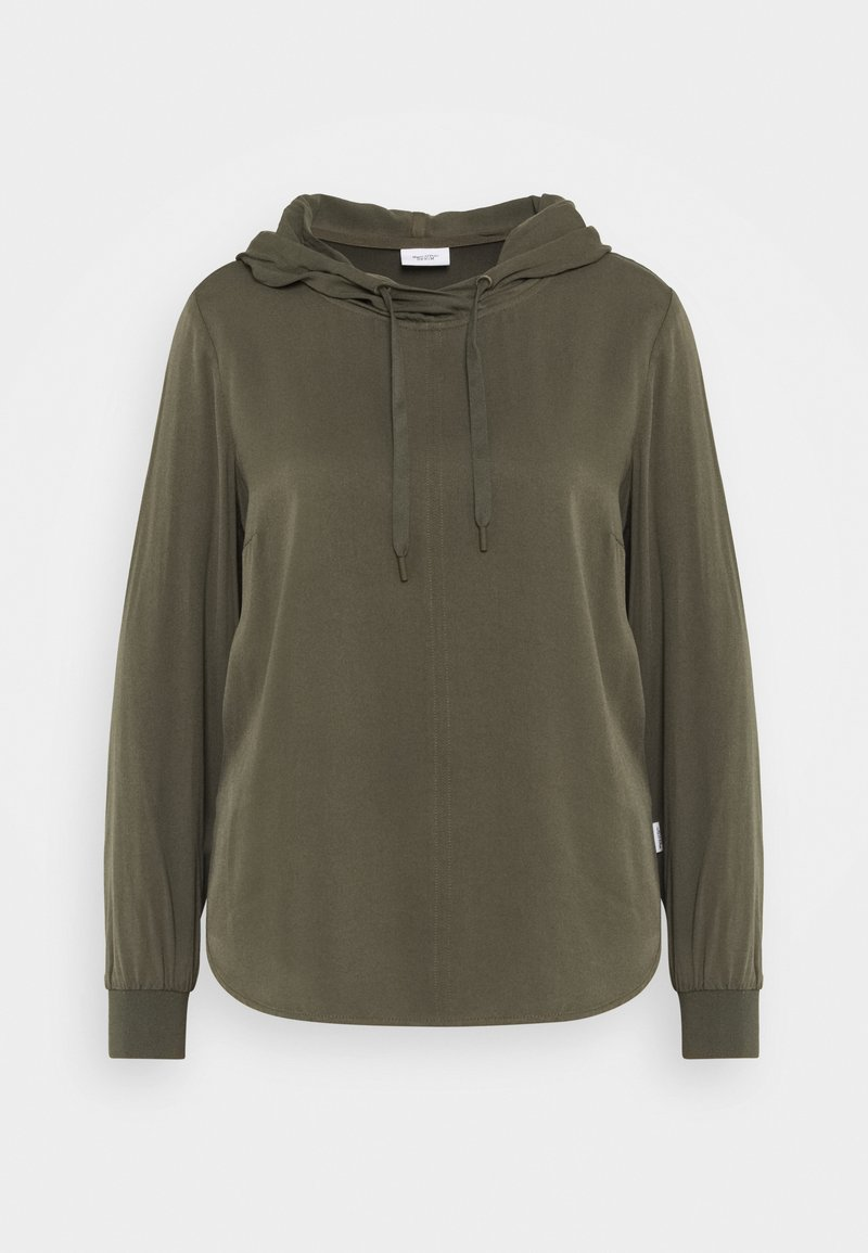 Marc O'Polo DENIM - BLOUSE HOODED - Hoodie - utility olive