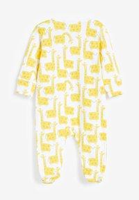 Next - 3 PACK CHARACTER RAINBOW  - Sleep suit - yellow - 4