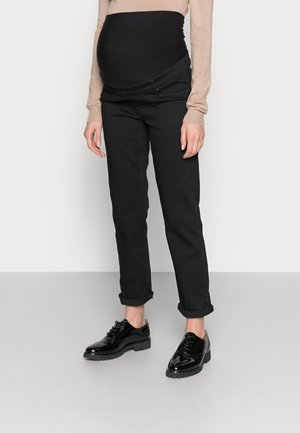 OVERBUMP straight leg jeans - Vaqueros rectos - black