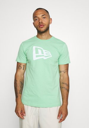 FLAG TEE - T-shirts print - mottled teal