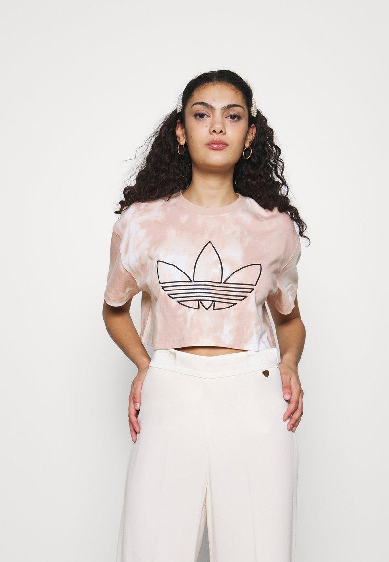 adidas Originals - CROP - T-shirt imprimé - multicolor