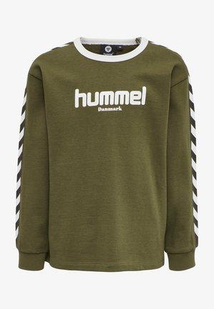 HMLKYOTO  - Sweatshirt - military olive