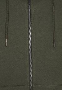 Jack & Jones - JJEBASIC ZIP HOOD - Zip-up sweatshirt - forest night - 2