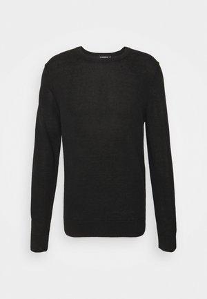 LYLE  - Stickad tröja - black