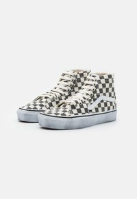 Vans - SK8 TAPERED - Baskets montantes - asphalt/true white - 1
