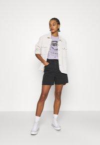 Lee - STELLA - Shorts di jeans - black duns - 1