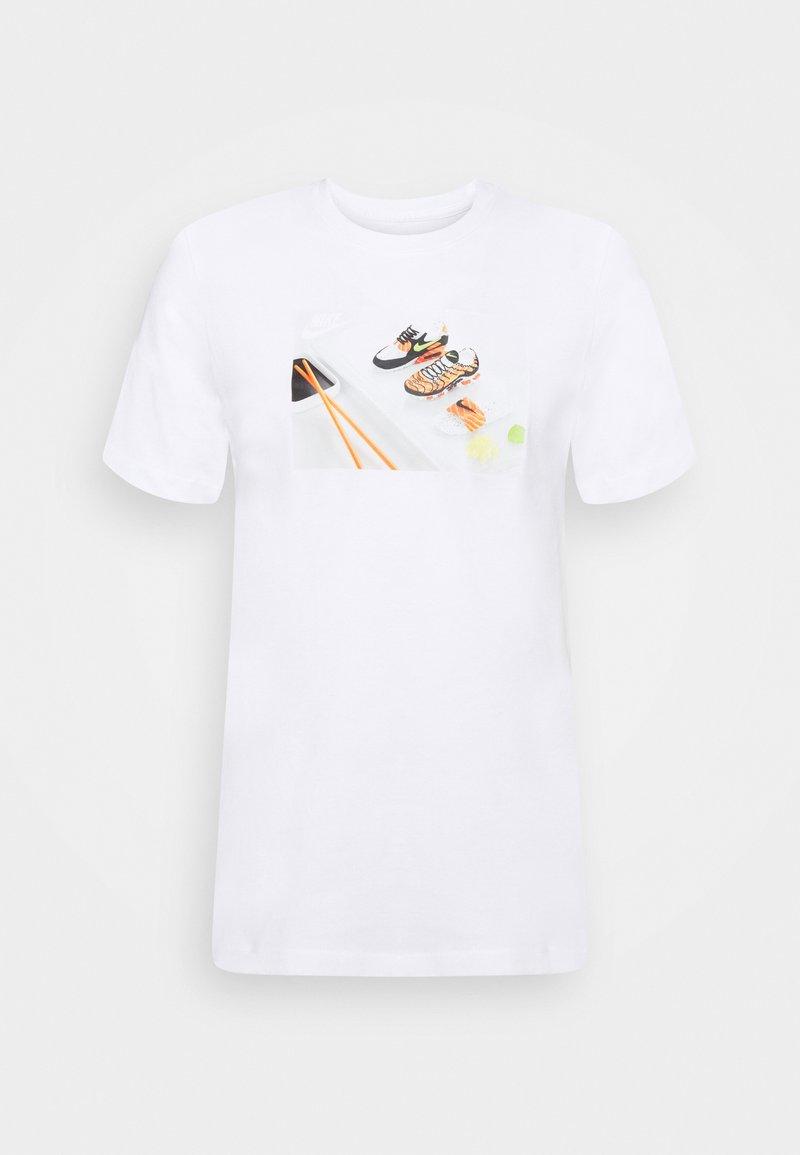 Nike Sportswear - TEE FOOD SHOESHI - T-shirts print - white