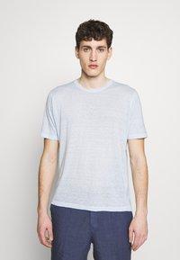 120% Lino - T-shirt basique - pacific blue soft fade - 0