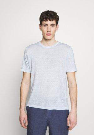 Jednoduché triko - pacific blue soft fade
