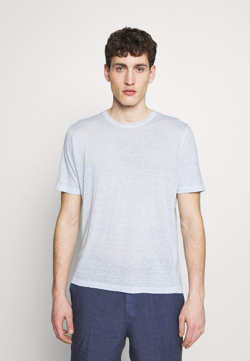 120% Lino - T-shirt basique - pacific blue soft fade