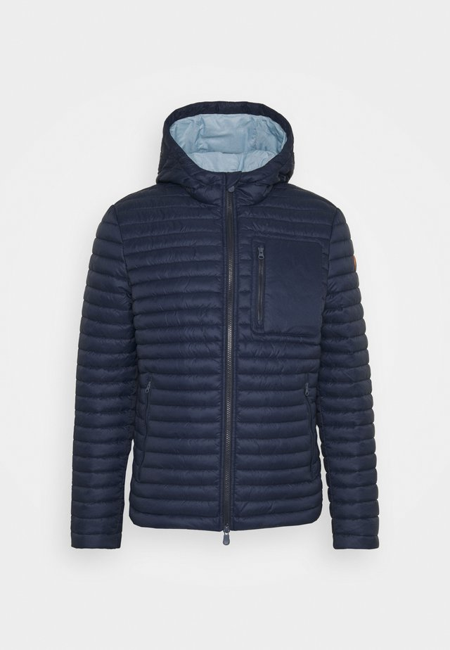 DIEGO HOODED JACKET - Winterjas - navy