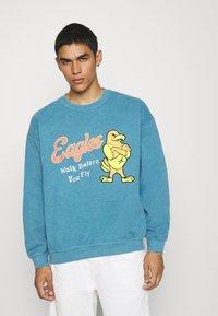 BDG Urban Outfitters - UNISEX BLUE EAGLES - Sweatshirt - blue - 0