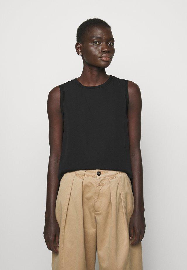COMBO SHELL - Débardeur - black