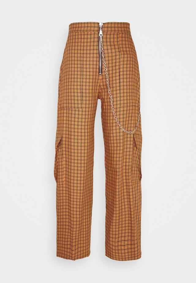 PATTERN PANT - Trousers - multi-coloured