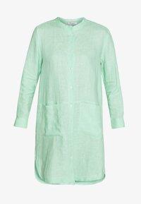 Košilové šaty - pastell mint