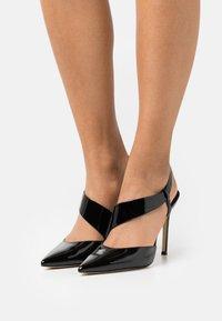 MICHAEL Michael Kors - JULIET SLING - Classic heels - black - 0