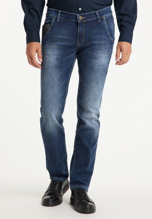STAN - STRAIGHT FIT - Straight leg jeans - stone used