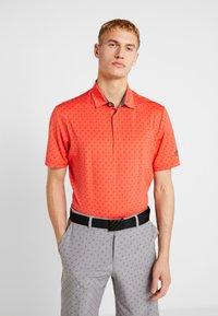 adidas Golf - Polotričko - real coral/grey - 0