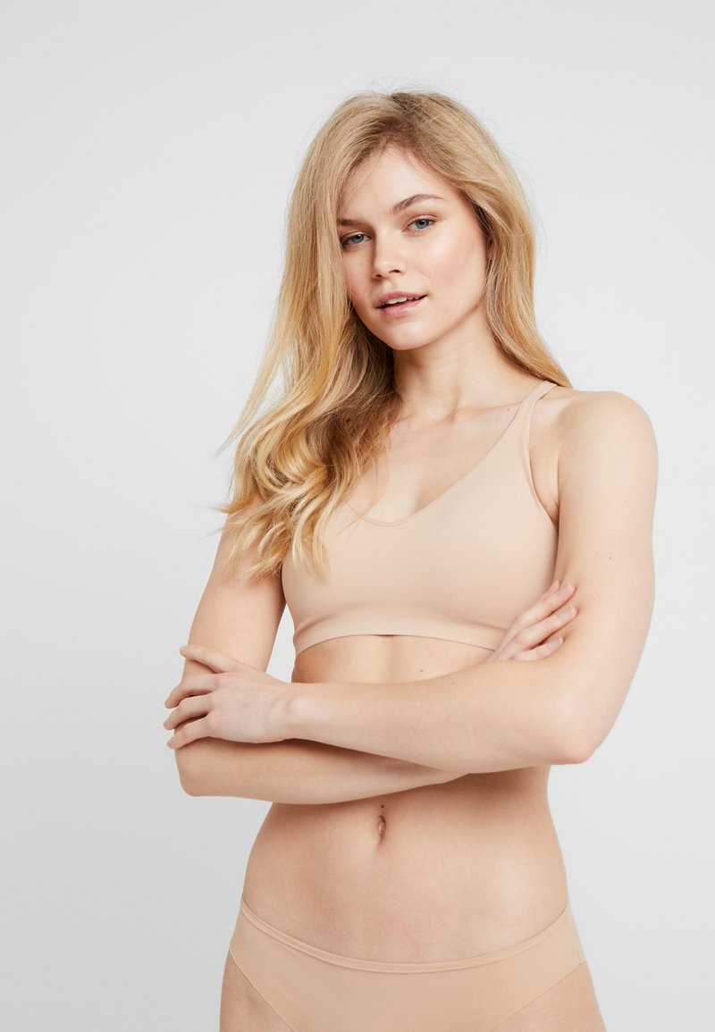 aerie - REAL ME BRALETTE - Bustier - natural nude