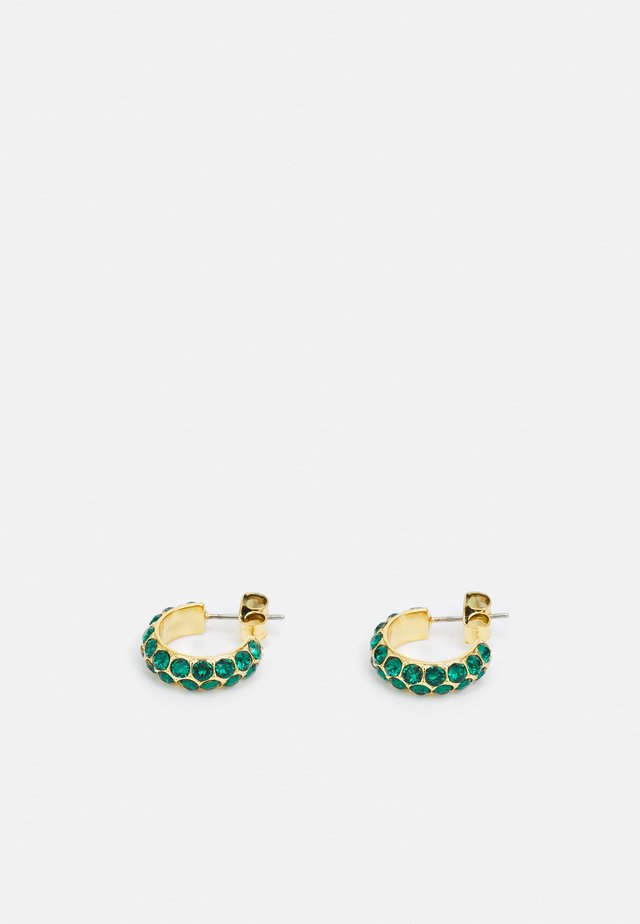 HEIDI EARRING - Oorbellen - green/gold-coloured