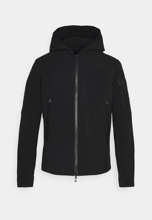 COAT COMPOUND TECHNO - Summer jacket - nero