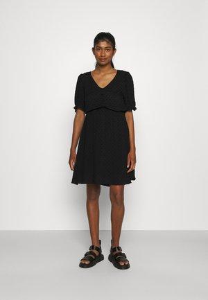 VISYS DRESS - Day dress - black
