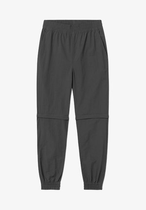 WOODWOOD 2IN1 HIKE PANT - Tracksuit bottoms - obsidian