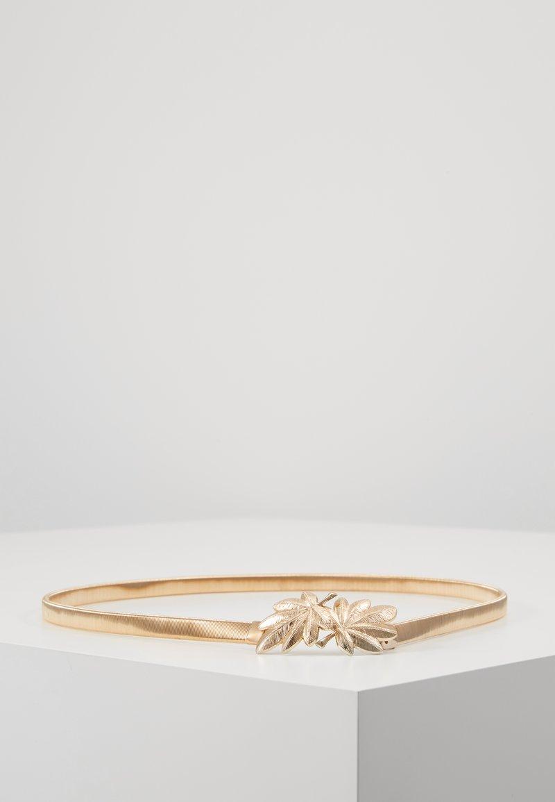 NAF NAF - SMETY - Belt - light gold-coloured