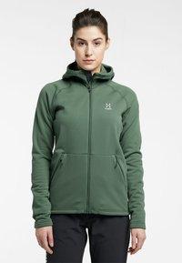 Haglöfs - BUNGY HOOD - Fleece jacket - fjell green - 0
