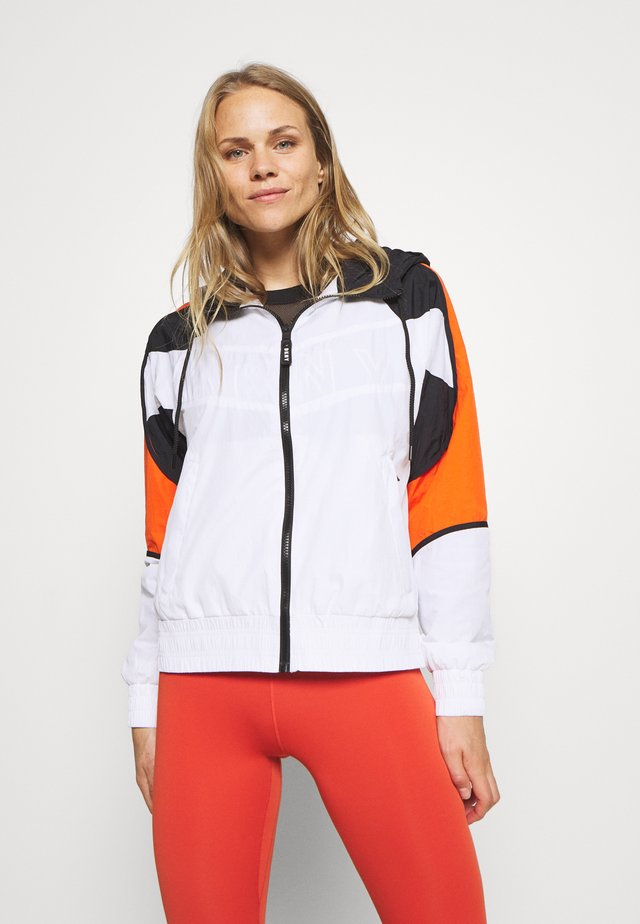 COLORBLOCKED TRACK JACKET - Veste de survêtement - white