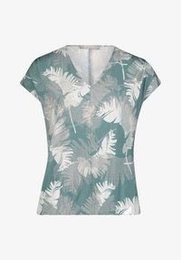 Betty & Co - Print T-shirt - green/white - 3