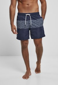 Urban Classics - Swimming shorts - darkwater - 0