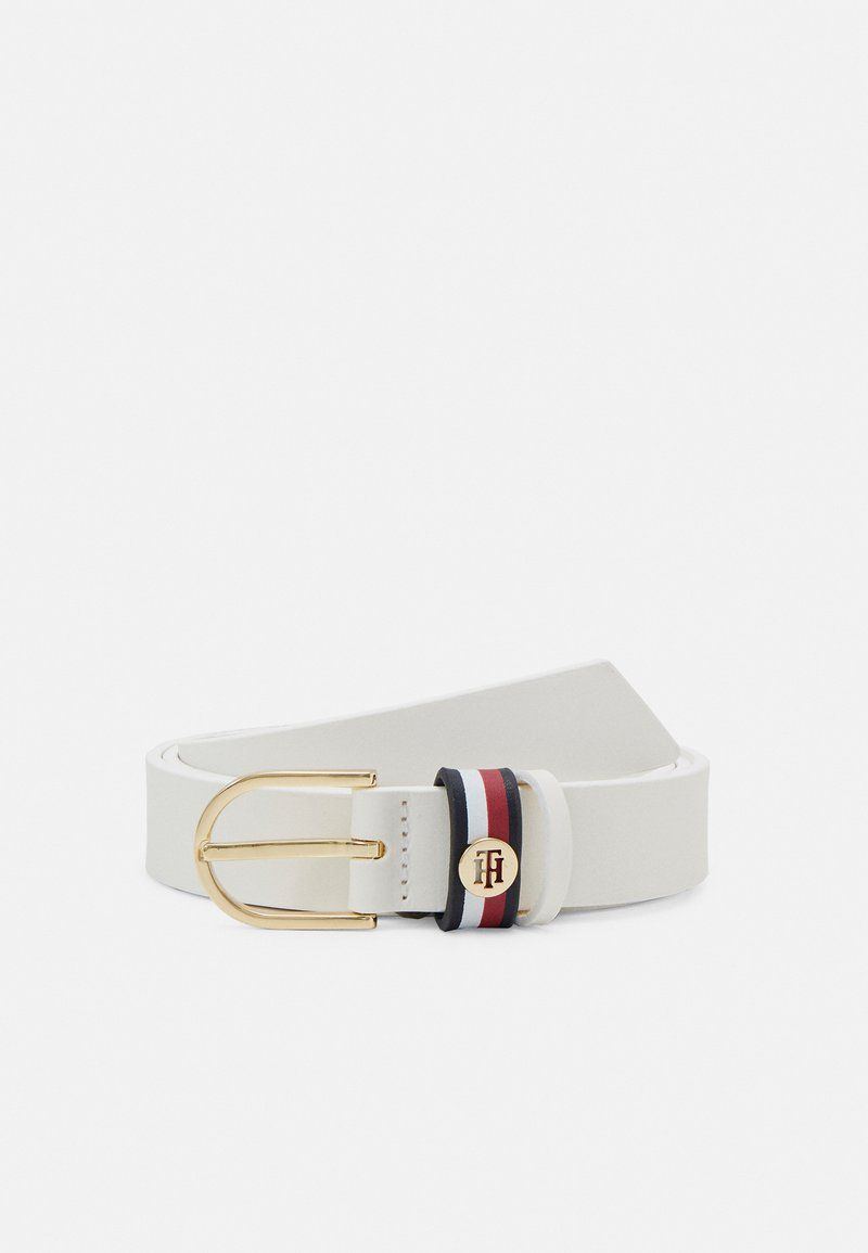 Tommy Hilfiger - CORP FLAG CLASSIC BELT - Bælter - white